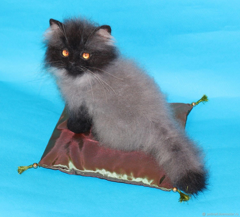 cat'Smokey', Stuffed Toys, Moscow,  Фото №1