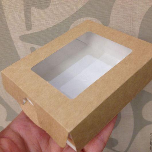 Упаковка ручной работы. Ярмарка Мастеров - ручная работа. Купить Коробка  10х8х3 см, пенал, крафт,(case 300). Handmade.