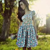 Одежда handmade. Livemaster - original item Summer cotton dress