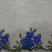 Кружево ручной работы. Ярмарка Мастеров - ручная работа Кружево.Вышивка на сетке (5 видов). Handmade.