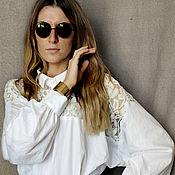 """Одежда ручной работы. Ярмарка Мастеров - ручная работа Блузка в богемном стиле """"Саша 4"""". Handmade."""