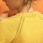 """Одежда ручной работы. Ярмарка Мастеров - ручная работа Болеро вязаное спицами """"Солнечное настроение"""". Handmade."""