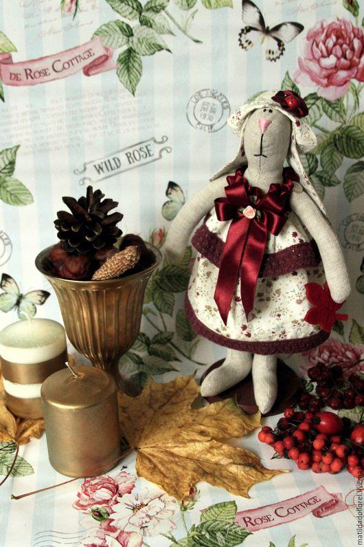 Куклы Тильды ручной работы. Ярмарка Мастеров - ручная работа. Купить Тильда Зайчик Эмилия. Handmade. Тильда, Тильда Зайка