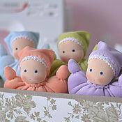 Куклы и игрушки ручной работы. Ярмарка Мастеров - ручная работа Вальдорфская кукла-бабочка, 20 см. Handmade.