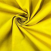 Материалы для творчества handmade. Livemaster - original item Satin cotton art. 28.0023 (Bright yellow) . Handmade.