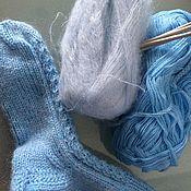 Носки ручной работы. Ярмарка Мастеров - ручная работа Носки: Мягкие, теплые и очень красивые носочки для всех. Handmade.