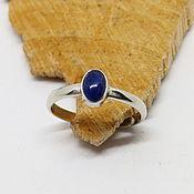 handmade. Livemaster - original item 16.5 ring with sodalite Blue. Handmade.
