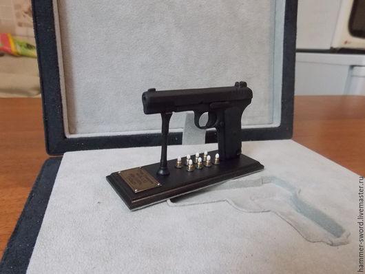 """Оружие ручной работы. Ярмарка Мастеров - ручная работа. Купить Действующая миниатюрная копия пистолета """"ТТ"""" образца 1933 г.. Handmade."""