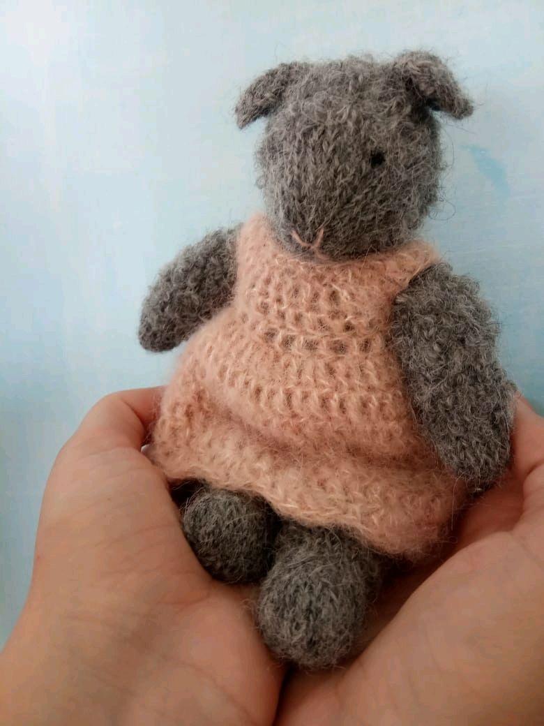 Маленькая овечка, Мягкие игрушки, Мостовской,  Фото №1
