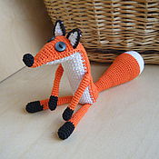 Куклы и игрушки ручной работы. Ярмарка Мастеров - ручная работа Лис из маленького принца. Handmade.