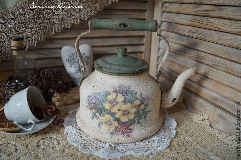 'May tea'-teapot, Vintage kitchen utensils, Ruza,  Фото №1