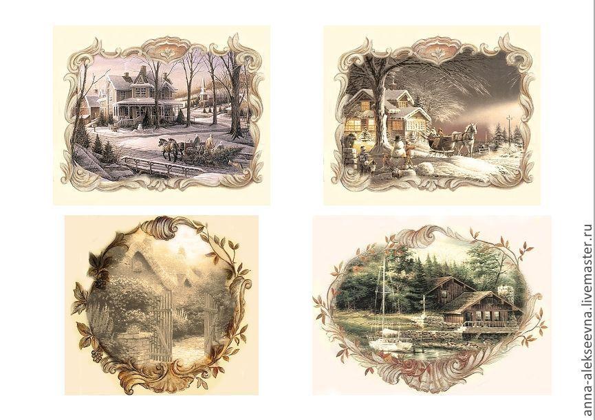 Картинки для декупажа для распечатки новые