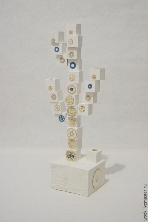 Статуэтки ручной работы. Ярмарка Мастеров - ручная работа. Купить Дерево. Handmade. Белый, дерево сосна