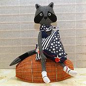 Куклы и игрушки handmade. Livemaster - original item Kroshka Enot - I will Captain!. Handmade.