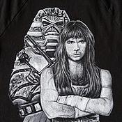 Одежда handmade. Livemaster - original item t-shirt: Iron MAIDEN t-shirt