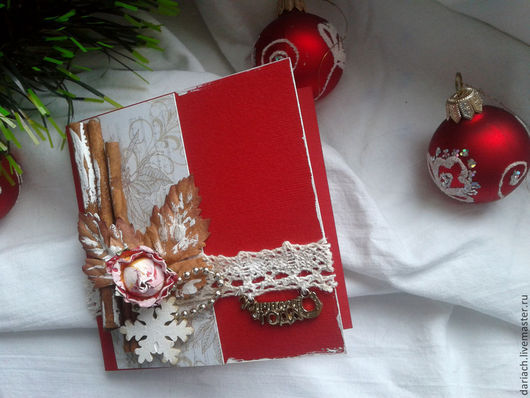 Открытки к Новому году ручной работы. Ярмарка Мастеров - ручная работа. Купить открытка на новый год. Handmade. Открытка ручной работы