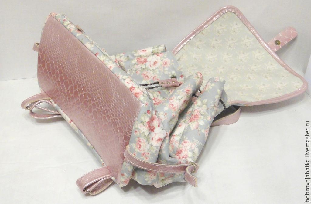 f53f3434d72b Школьный рюкзак для подростка из водонепроницаемой ткани Розы. Personalized  gifts Bags