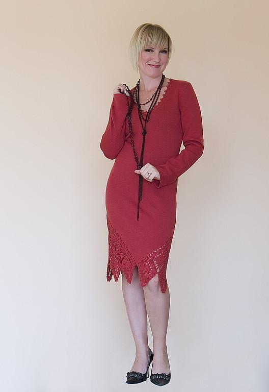 Платья ручной работы. Ярмарка Мастеров - ручная работа. Купить Платье вязаное 4209. Handmade. Платье, вязаное платье крючком