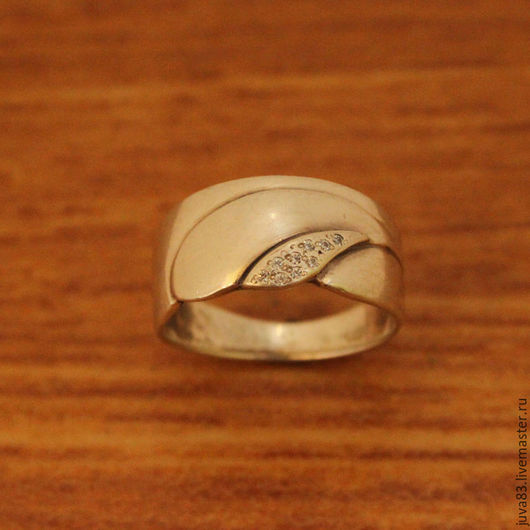 Кольца ручной работы. Ярмарка Мастеров - ручная работа. Купить Серебряное кольцо Улыбка, серебро 925. Handmade. Серебряный