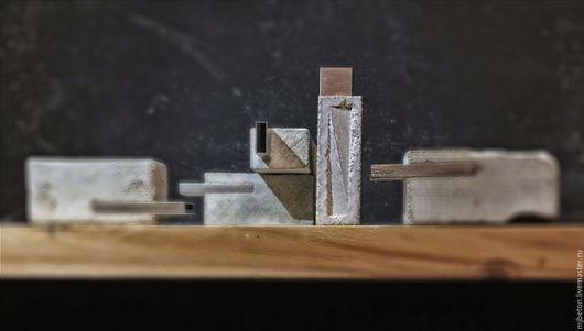 Компьютерные ручной работы. Ярмарка Мастеров - ручная работа. Купить Флешка из бетона. Handmade. Серый, бетон