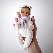 """Куклы и игрушки ручной работы. Ярмарка Мастеров - ручная работа Тедди-долл """"Плюшевый медведь"""". Handmade."""