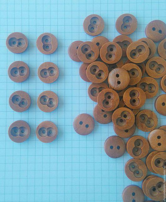 Куклы и игрушки ручной работы. Ярмарка Мастеров - ручная работа. Купить пуговица деревянная аля Буратино) 1,8 см. Handmade.