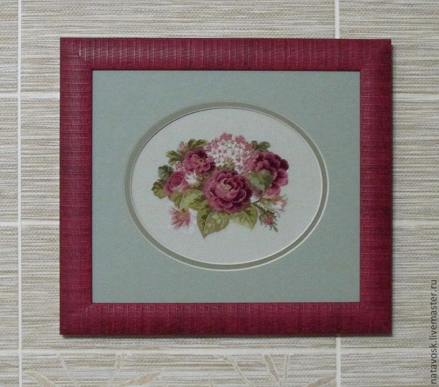 Cross stitch Vintage Roses, Panels, Rostov-on-Don,  Фото №1