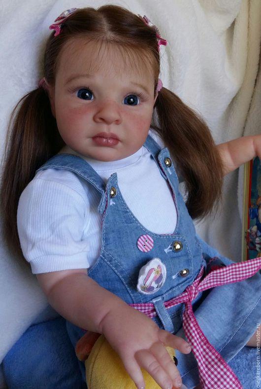 Куклы-младенцы и reborn ручной работы. Ярмарка Мастеров - ручная работа. Купить Антонина - 3! Кукла реборн! (Rowan by Jessica Schenk). Handmade.