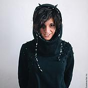 Одежда handmade. Livemaster - original item Sweatshirt Devil. Handmade.