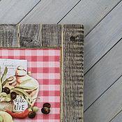 Для дома и интерьера ручной работы. Ярмарка Мастеров - ручная работа Постер в раме из старых досок `Olives&Lemons`. Handmade.