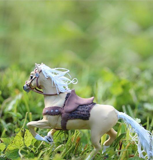 """Сказочные персонажи ручной работы. Ярмарка Мастеров - ручная работа. Купить фигурка """"Лошадь Зены Арго (Argo)"""" (аллюр: галоп). Handmade."""