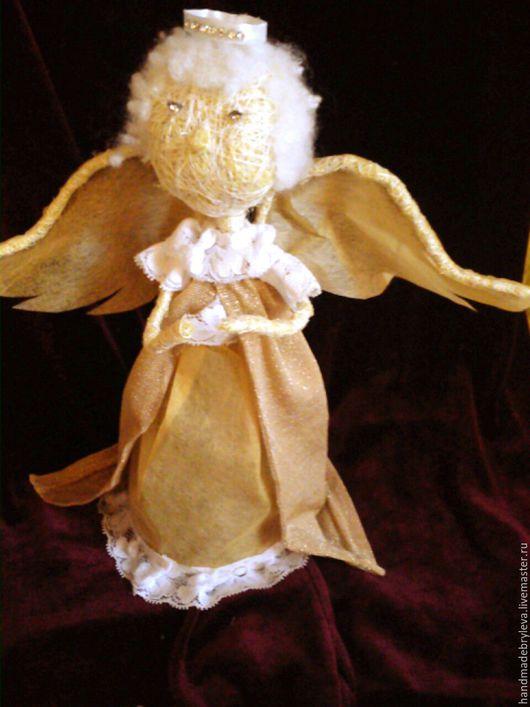 Коллекционные куклы ручной работы. Ярмарка Мастеров - ручная работа. Купить Ангел. Handmade. Белый, подарок на любой случай, handmade