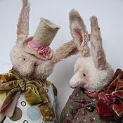 Куклы и игрушки ручной работы. Ярмарка Мастеров - ручная работа Мои зайчики, мои мальчики. Handmade.