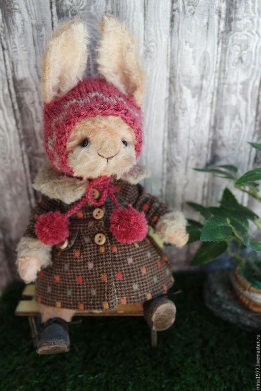 Мишки Тедди ручной работы. Ярмарка Мастеров - ручная работа. Купить Ульяша.. Handmade. Бежевый, единственный экземпляр, шплинтовое соединение