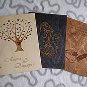Канцелярские товары handmade. Livemaster - original item notebook on the rings. Handmade.