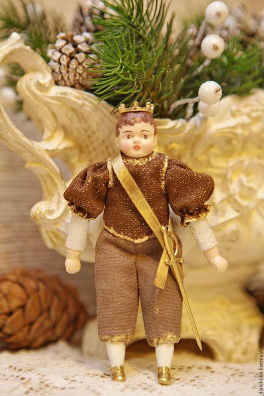 Коллекционные куклы ручной работы. Ярмарка Мастеров - ручная работа. Купить Маленький принц. Handmade. Золотой, подарок к Новому году
