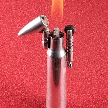 Зажигалка серебряная пуля
