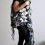 Комплект из сумочки и длинного шарфа