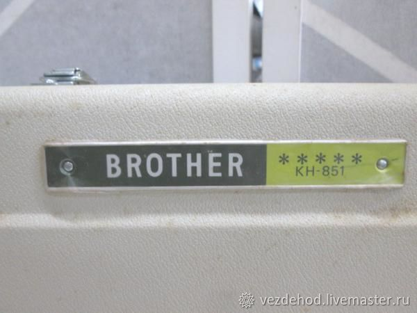 Вязальная машина Бразер KH851 Япония – заказать на Ярмарке Мастеров – GJ7GJRU | Инструменты, Зеленоград