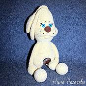 Куклы и игрушки handmade. Livemaster - original item Plush Bunny. Rabbit knitted. Handmade.