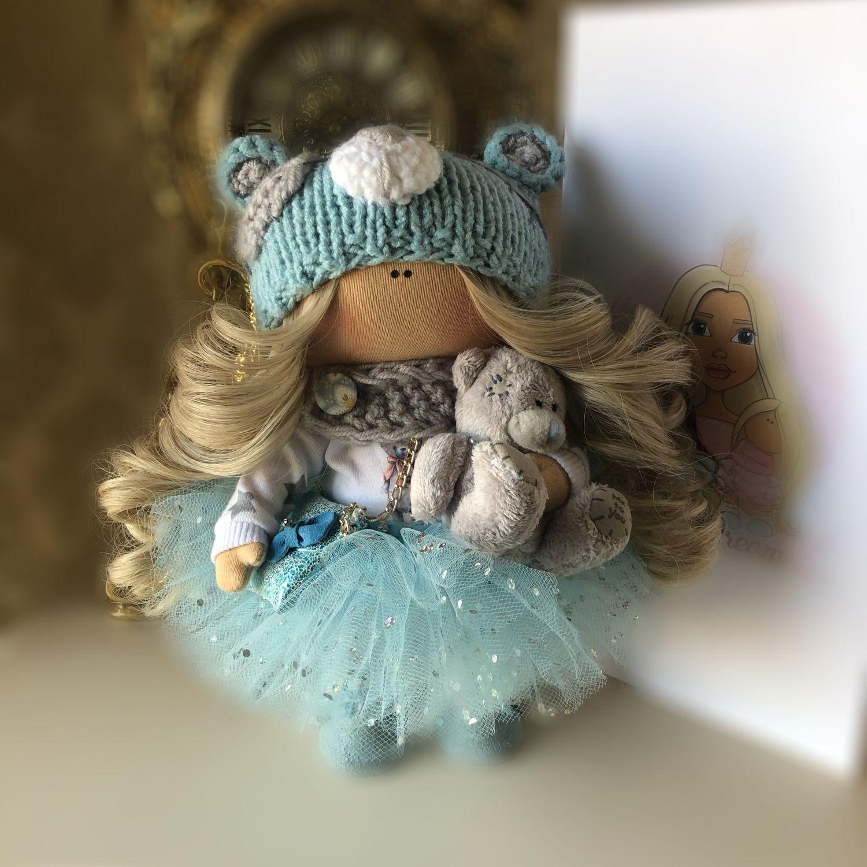 Интерьерная кукла ручной работы. Текстильная кукла. Тыквоголовка, Куклы Тильда, Санкт-Петербург,  Фото №1