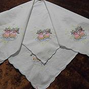 Винтаж handmade. Livemaster - original item Top with embroidery,100% cotton,vintage Austria. Handmade.