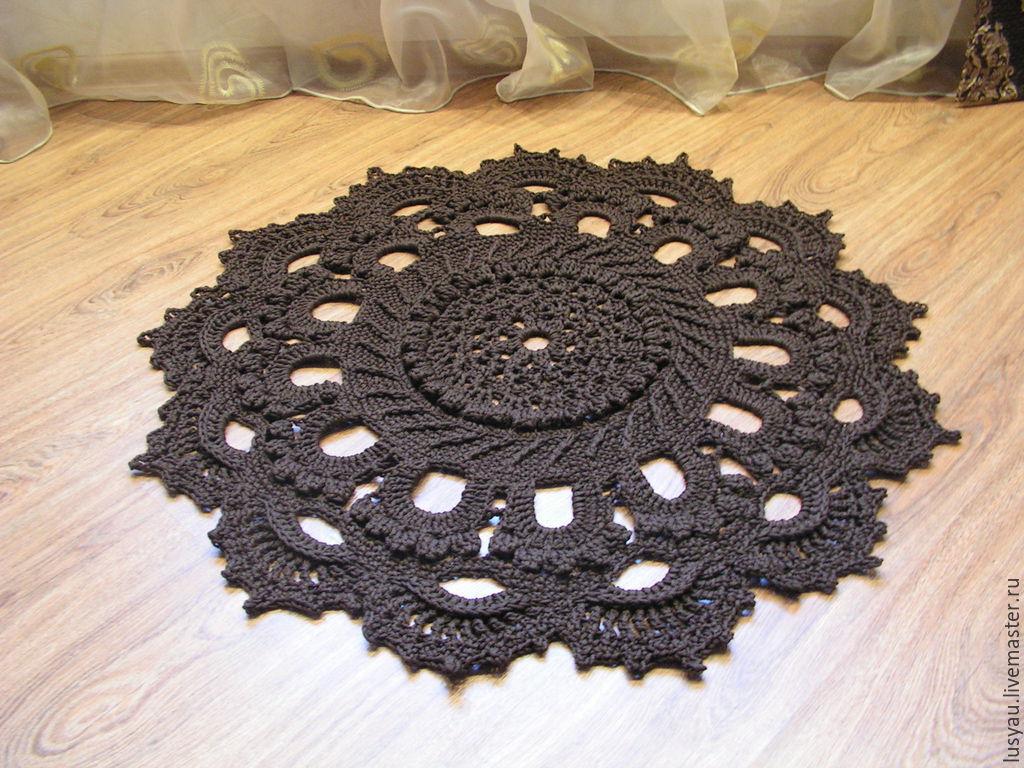 Осинка вязание крючком ковры 97