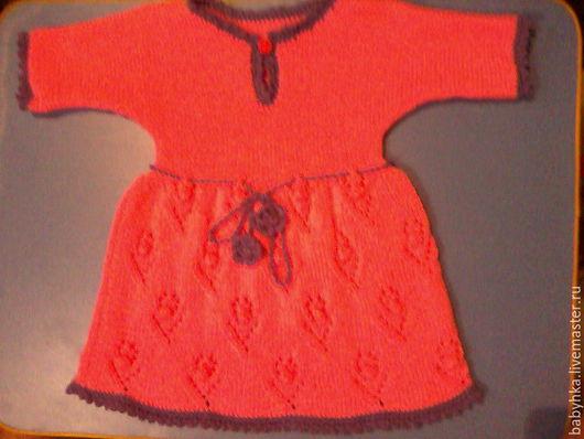 Одежда для девочек, ручной работы. Ярмарка Мастеров - ручная работа. Купить платье для девочки. Handmade. Ярко-красный