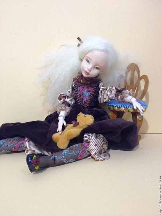"""Коллекционные куклы ручной работы. Ярмарка Мастеров - ручная работа. Купить Будуарно Шарнирная Кукла """"Angel"""" Kamilla. Handmade."""