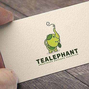 Дизайн и реклама ручной работы. Ярмарка Мастеров - ручная работа Логотип для чайного магазина, кафе. Handmade.