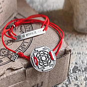 Украшения handmade. Livemaster - original item Yantra Lakshmi Bracelet, 925 silver. Handmade.