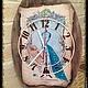 """Часы для дома ручной работы. Ярмарка Мастеров - ручная работа. Купить Часы """"Маникен"""". Handmade. Часы настенные"""