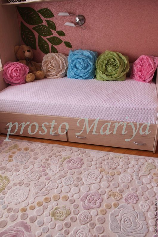 комплект подушек Роза для детской