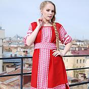 Одежда handmade. Livemaster - original item MIDI dress